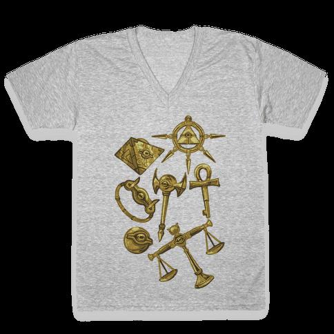 Millennium Items V-Neck Tee Shirt