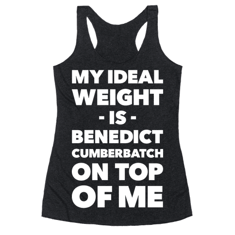 Ideal Weight Racerback Tank Top