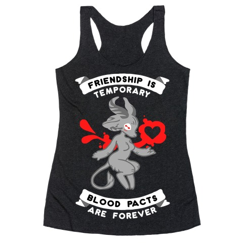My Little Demon Racerback Tank Top