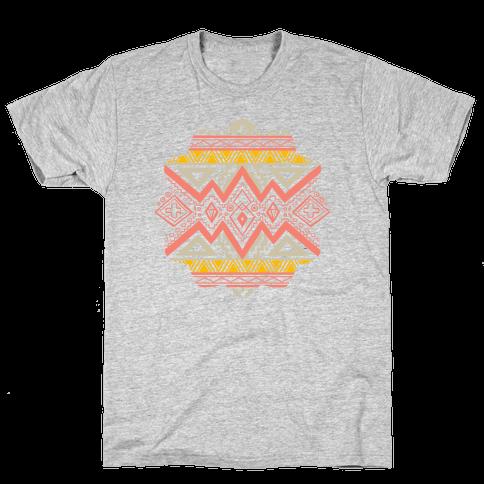 Aztec Mandala Mens T-Shirt