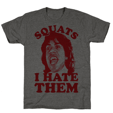 Squats I Hate Them