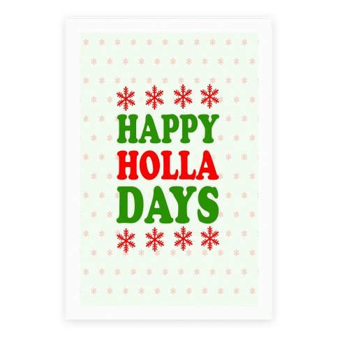 Happy Holla Days Poster