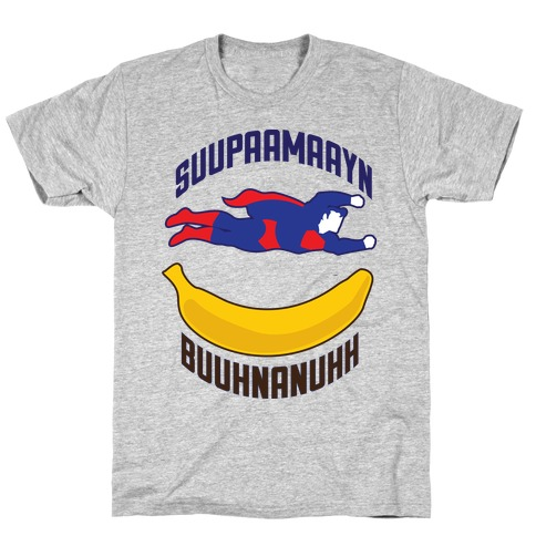 Super Banana Mens T-Shirt