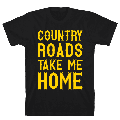 Country Roads Mens T-Shirt