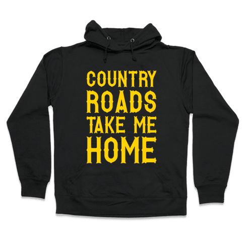 Country Roads Hooded Sweatshirt
