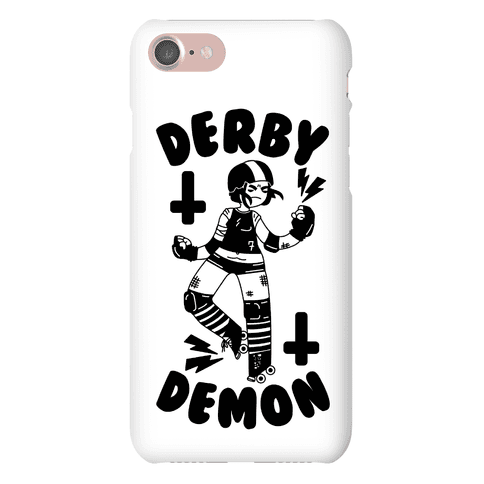Derby Demon Phone Case