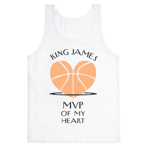 MVP of My Heart (Basketball Version) Tank Top