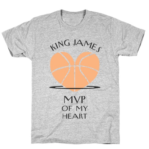 MVP of My Heart (Basketball Version) T-Shirt
