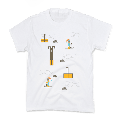 Free Ski Kids T-Shirt
