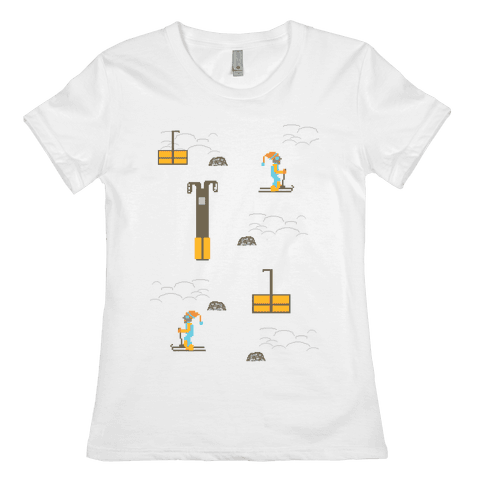 Free Ski Womens T-Shirt