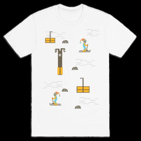 Free Ski Mens T-Shirt