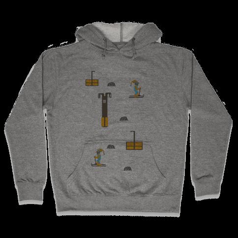 Free Ski Hooded Sweatshirt