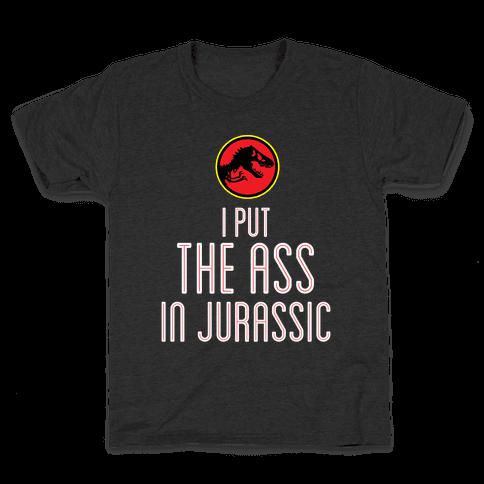 THE ASS IN JURASSIC (tank) Kids T-Shirt