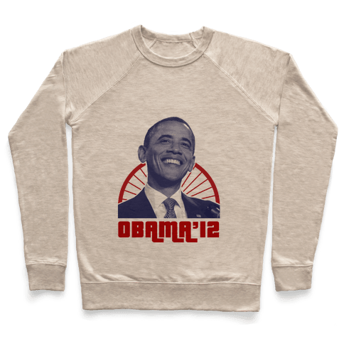 Obama for 2012 Pullover