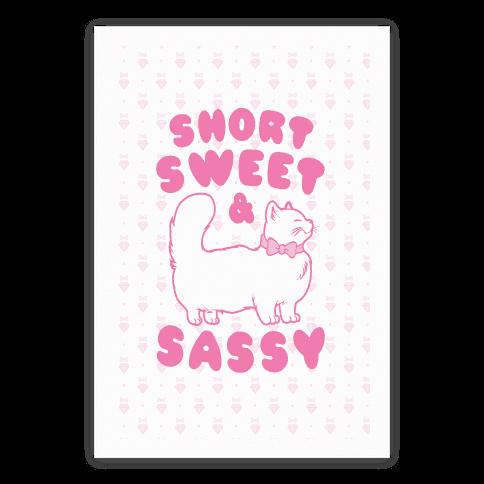 Short Sweet & Sassy Poster