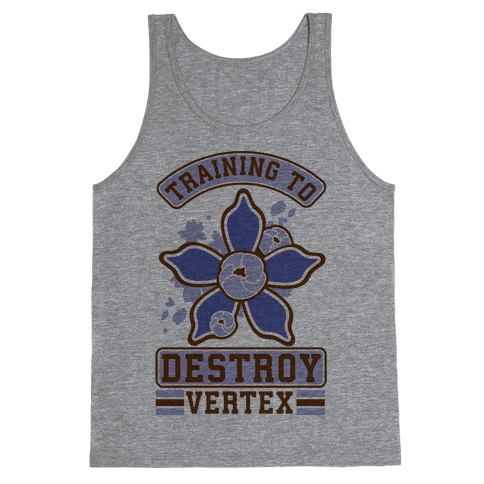 Training to Destroy Vertex Togo Tank Top