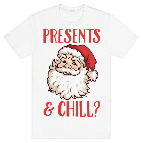 Presents and Chill Santa
