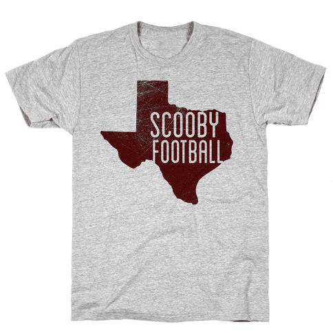 Scooby Football Mens T-Shirt