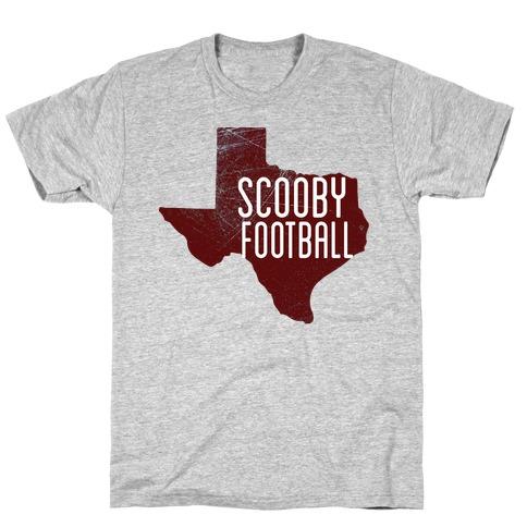 Scooby Football Mens T-Shirt