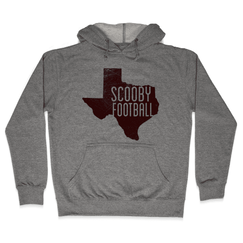 Scooby Football Hooded Sweatshirt