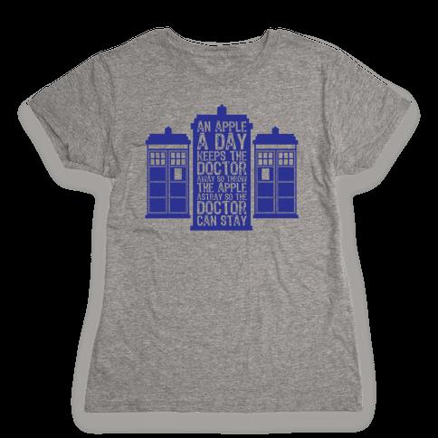 The Doctors Poem Womens T-Shirt