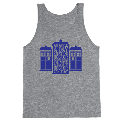 The Doctors Poem Tank Top