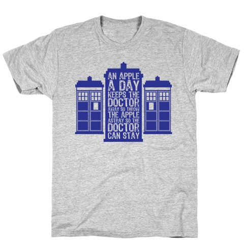 The Doctors Poem Mens T-Shirt