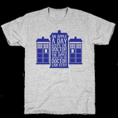 The Doctors Poem Mens T-Shirt