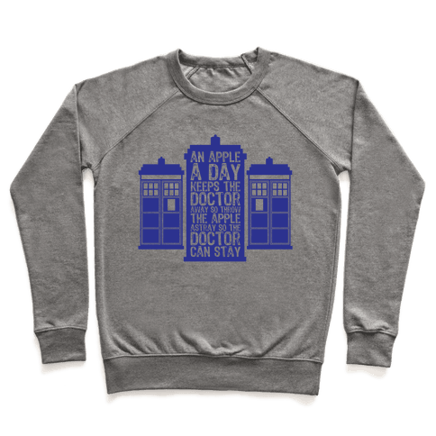 The Doctors Poem Pullover