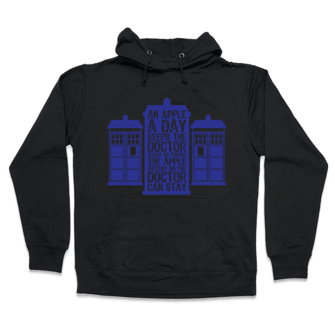 The Doctors Poem Hooded Sweatshirt