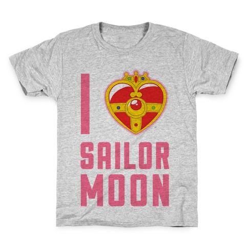 I Heart Sailor Moon Kids T-Shirt