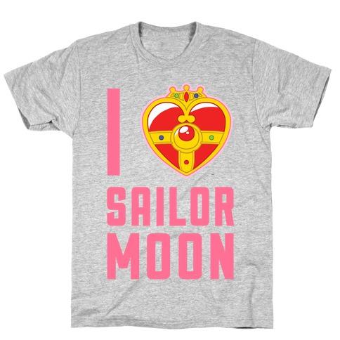 I Heart Sailor Moon Mens/Unisex T-Shirt