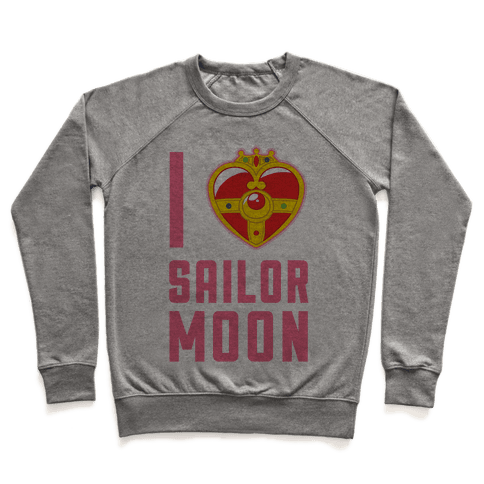 I Heart Sailor Moon Pullover