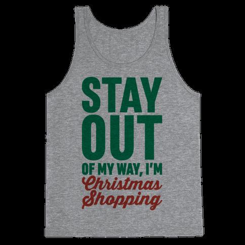 Christmas Shopping Tank Top