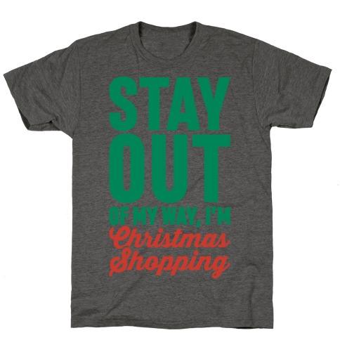 Christmas Shopping T-Shirt