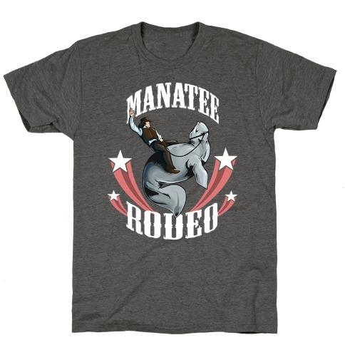 MANATEE RODEO (sweatshirt) T-Shirt