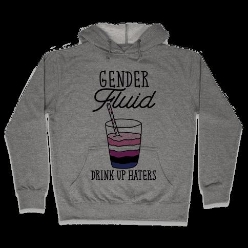 Gender Fluid Hooded Sweatshirt