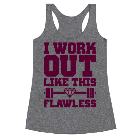 Flawless Workout Racerback Tank Top