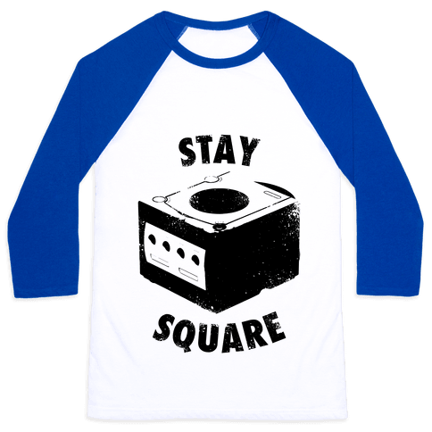 Stay Square (Vintage) Baseball Tee