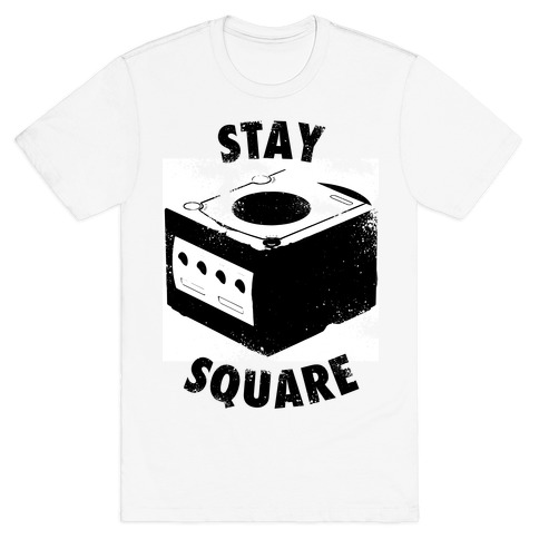 Stay Square (Vintage) Mens T-Shirt