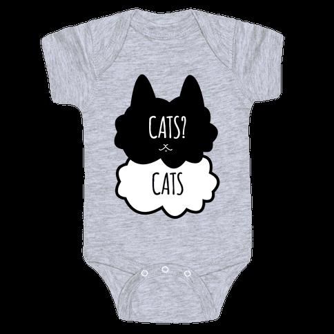 Cats? Cats Baby Onesy