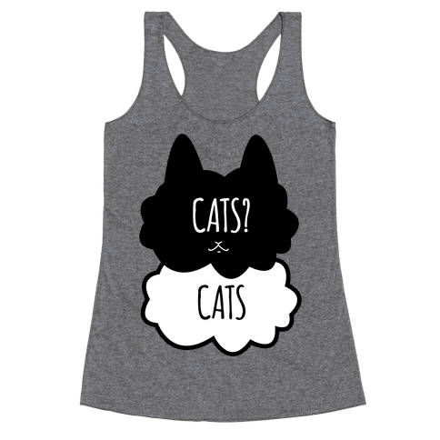 Cats? Cats Racerback Tank Top