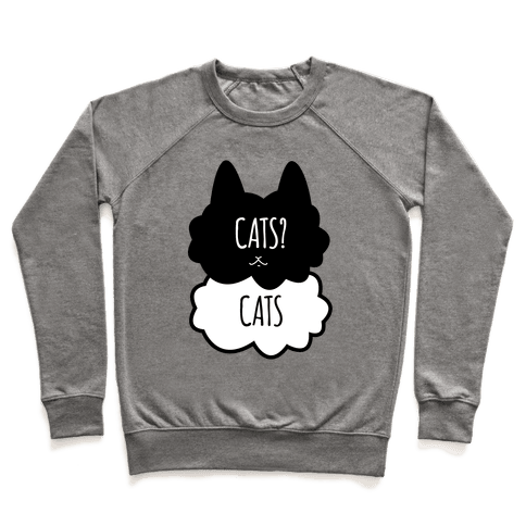 Cats? Cats Pullover