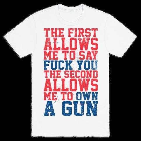 Fuck You Own A Gun