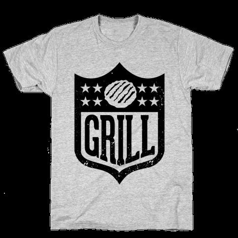 Grill League Mens T-Shirt