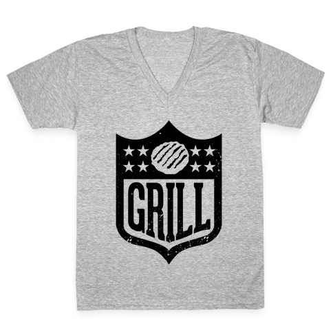 Grill League V-Neck Tee Shirt