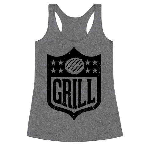 Grill League Racerback Tank Top
