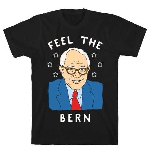 Feel The Bern Mens T-Shirt