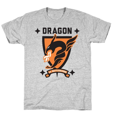 Dragon Army (Orange) Mens T-Shirt