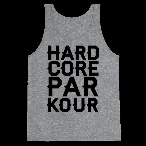 Hardcore Parkour Tank Top